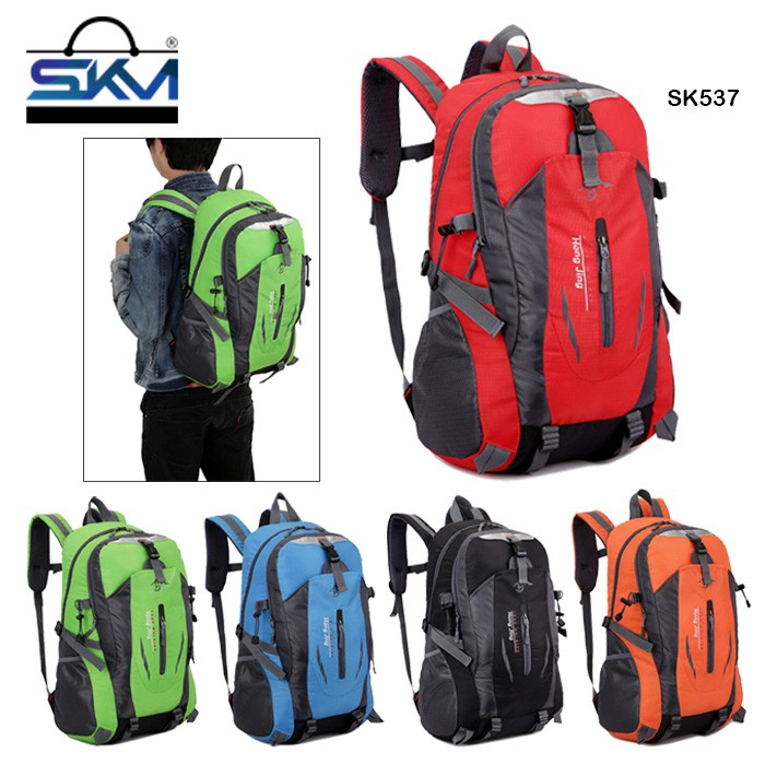 e487aa4e81b3 SKM SK537 Waterproof Outdoor Hiking Riding Unisex Sports Leisure Travel  Backpack
