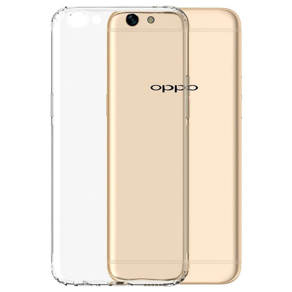 JM STANDARD TRANSPARENT MOBILE PHONE CASING TPU CASE FOR OPPO F3 F7 RENO10X ZOOM A3 A5