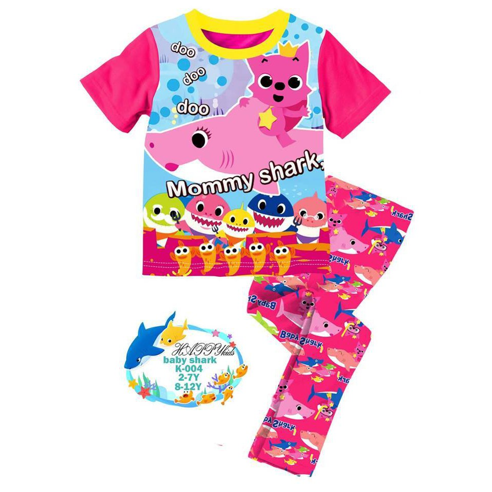 Pink Mommy Shark Doo Doo Pyjamas