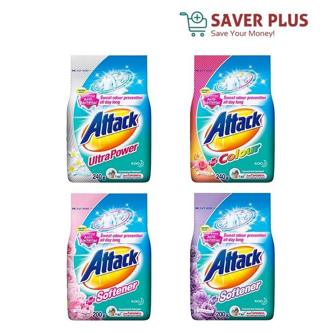 Attack Detergent Powder 1.6/1.4kg