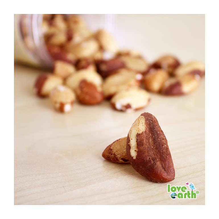 Light Roasted Natural Brazil Nut 160g