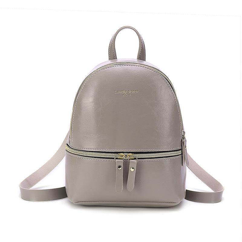 bea648b35f8e Elegant Ladies Small Backpack Travel Shoulder Handbag Bags | Shopee ...