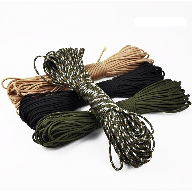 31 Meters 7 Strand Parachute Cord Umbrella Rope Outdoors Camping Survival Rope
