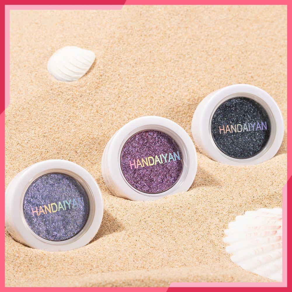 King~ HANDAIYAN Fashion Makeup Eye Shadow Soft Glitter Shimmering Colors Eyeshadow Metallic ❥