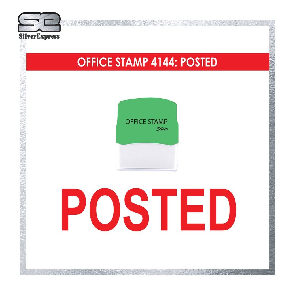 OFFICE STAMP / P&C / PENDING / PLS CHOP SIGN / POSTED / REGISTRED / RECEIVED / REMINDER / REJECTED / READY MAKE STAMP