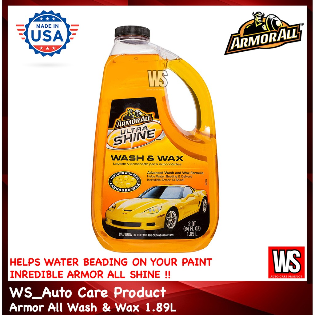 Armor All Ultra Shine Wash And Wax 1 89L