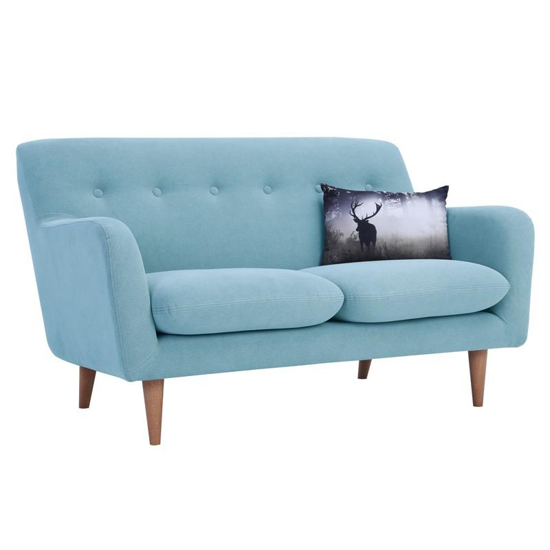 SPORTAGE 2 seater fabric sofa-light blue