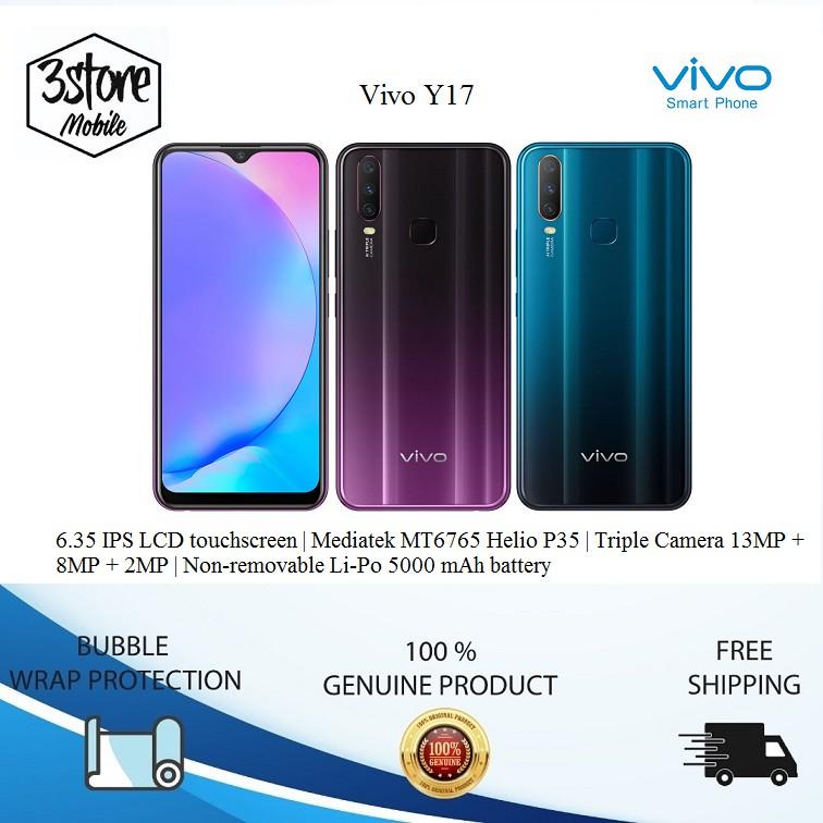 Original Set Vivo Y17 [4GB RAM + 128GB ROM]
