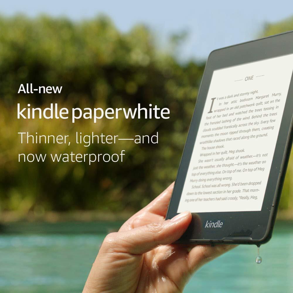 ORIGINAL Kindle Paperwhite 4 8GB (Free Screen Protector)