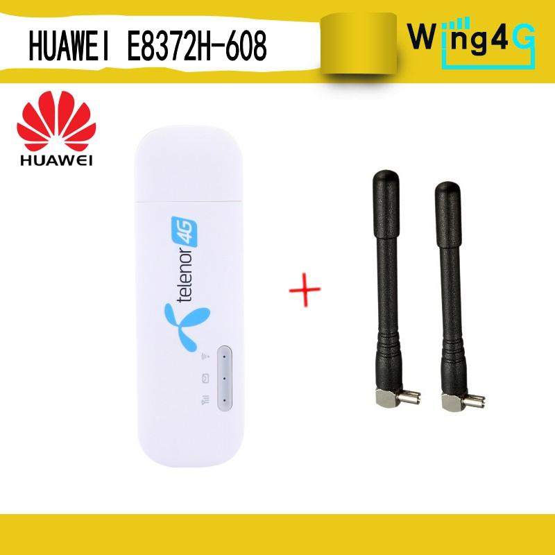 Huawei Mobile Broadband E8372 4G LTE Wingle SIm Card Wifi USB Modem hotspot
