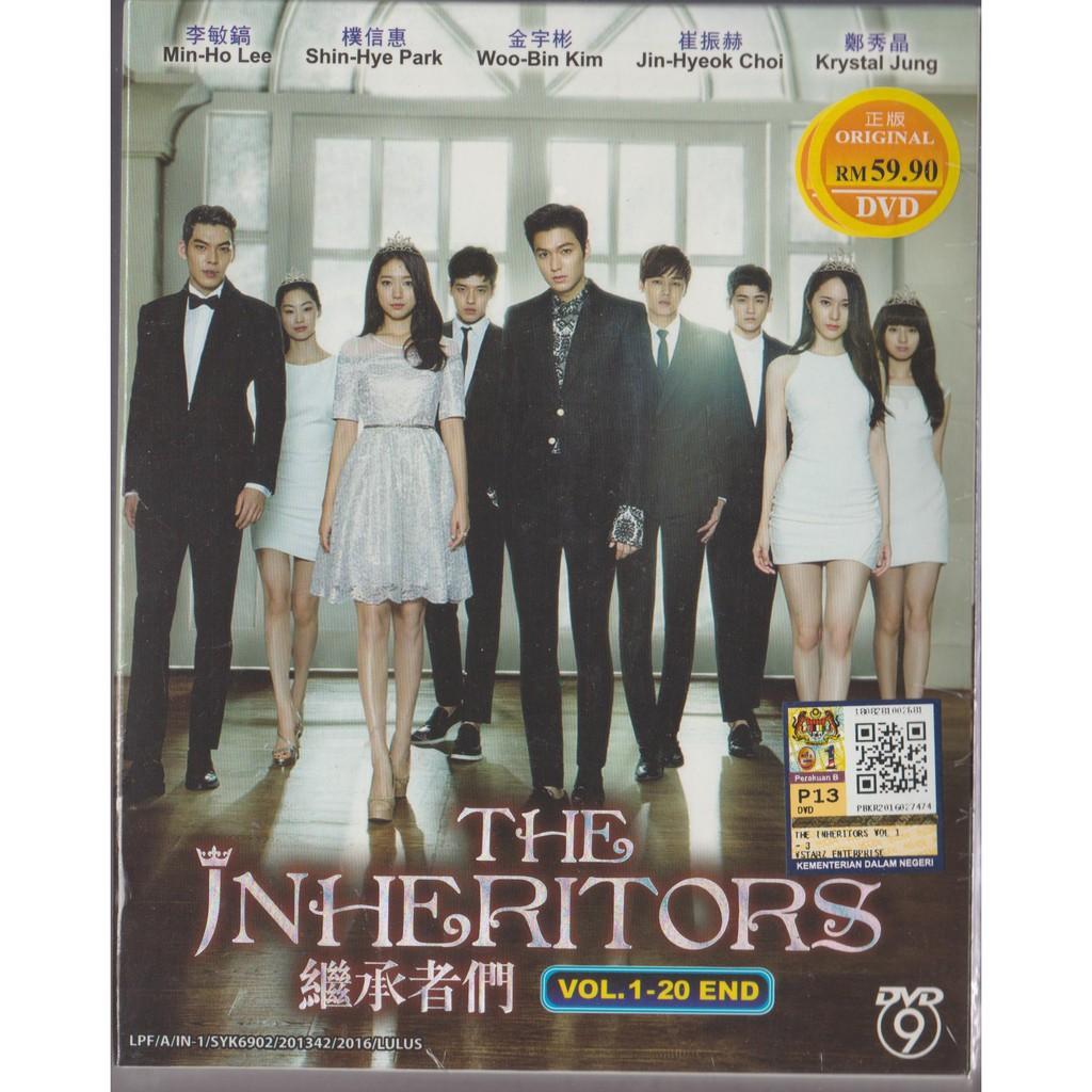 Korean Drama DVD The Inheritors (2013)