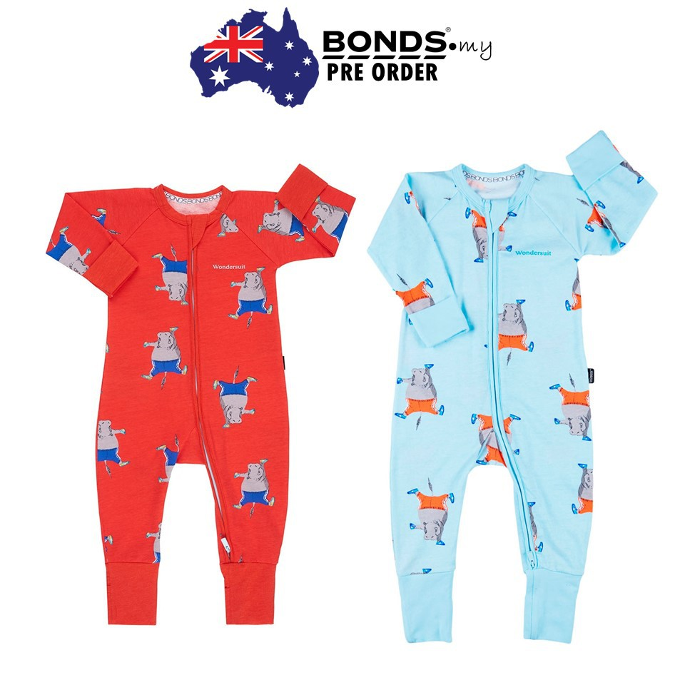 Animal Mash Up Baloo Bonds Zip Wondersuit