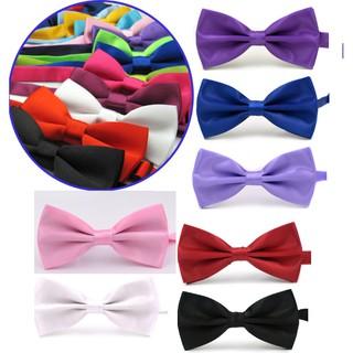 Odzież, Buty i Dodatki Dodatki męskie Classic Fashion Men's Adjustable Tuxedo Bowtie Wedding Bow Tie Necktie