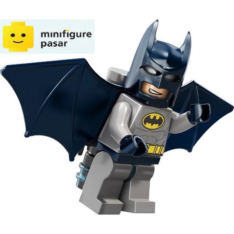 Lego DC Super Heroes Blue /& Gray Batman Minifigure Wings Jet pack 6858