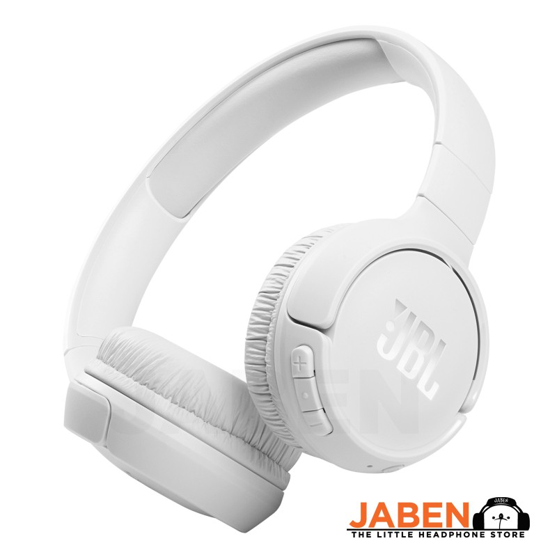 JBL Tune 510BT Pure Bass Lightweight Multipoint 40 Hours Battery Type-C Closed Back Bluetooth On-Ear Headphones [Jaben]