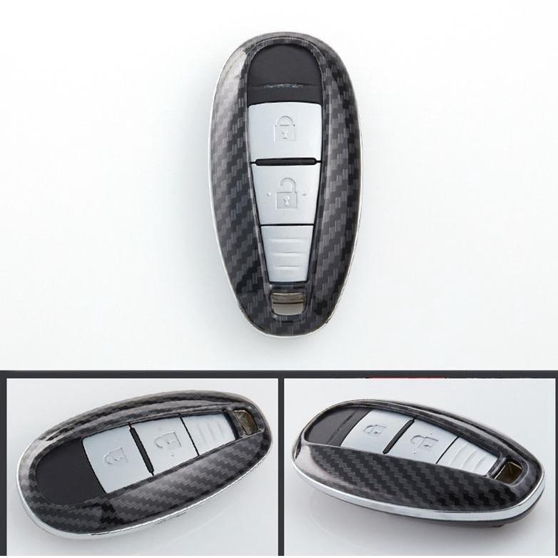 5 Button Thread Leather Remote Key Case Holder For Volvo XC60 XC70 S60L V40 V60l