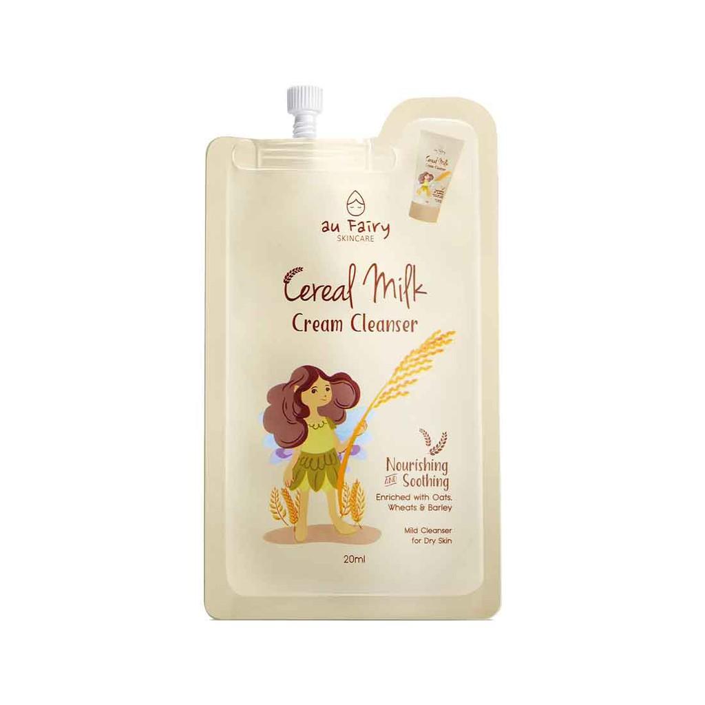 Au Fairy Cereals Milk Cream Cleanser - Dry Skin 20ml (Travel Pack) / 120g