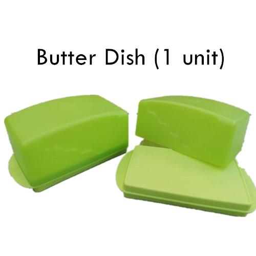 Tupperware Butter Dish (1) Green