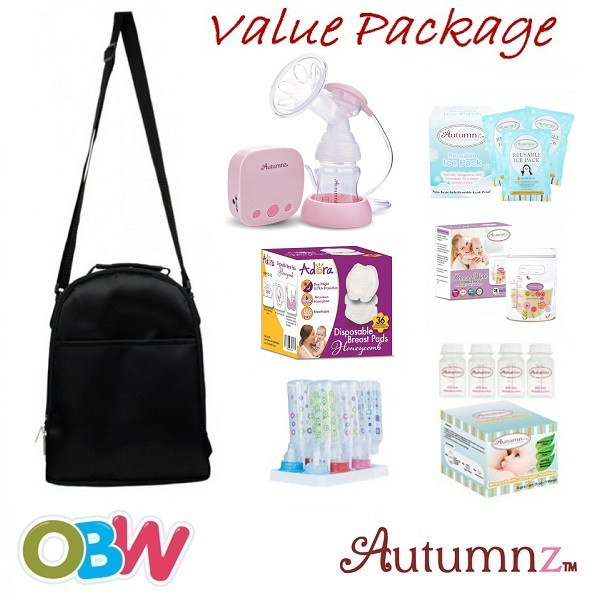 Autumnz Swift Single Electric Breastpump [Value Package]