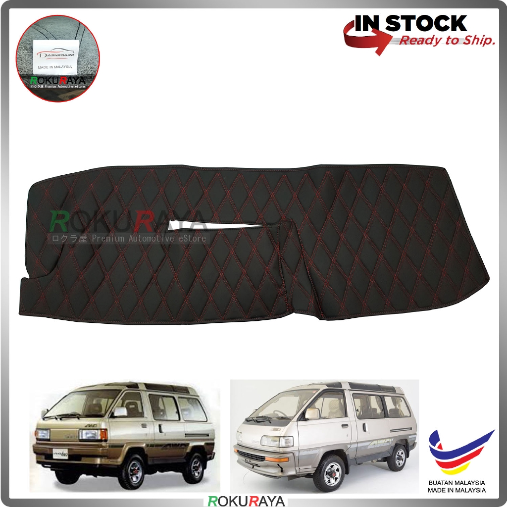 Toyota LiteAce M30-M80 RR Malaysia Custom Fit Dashboard Cover (RED LINE)