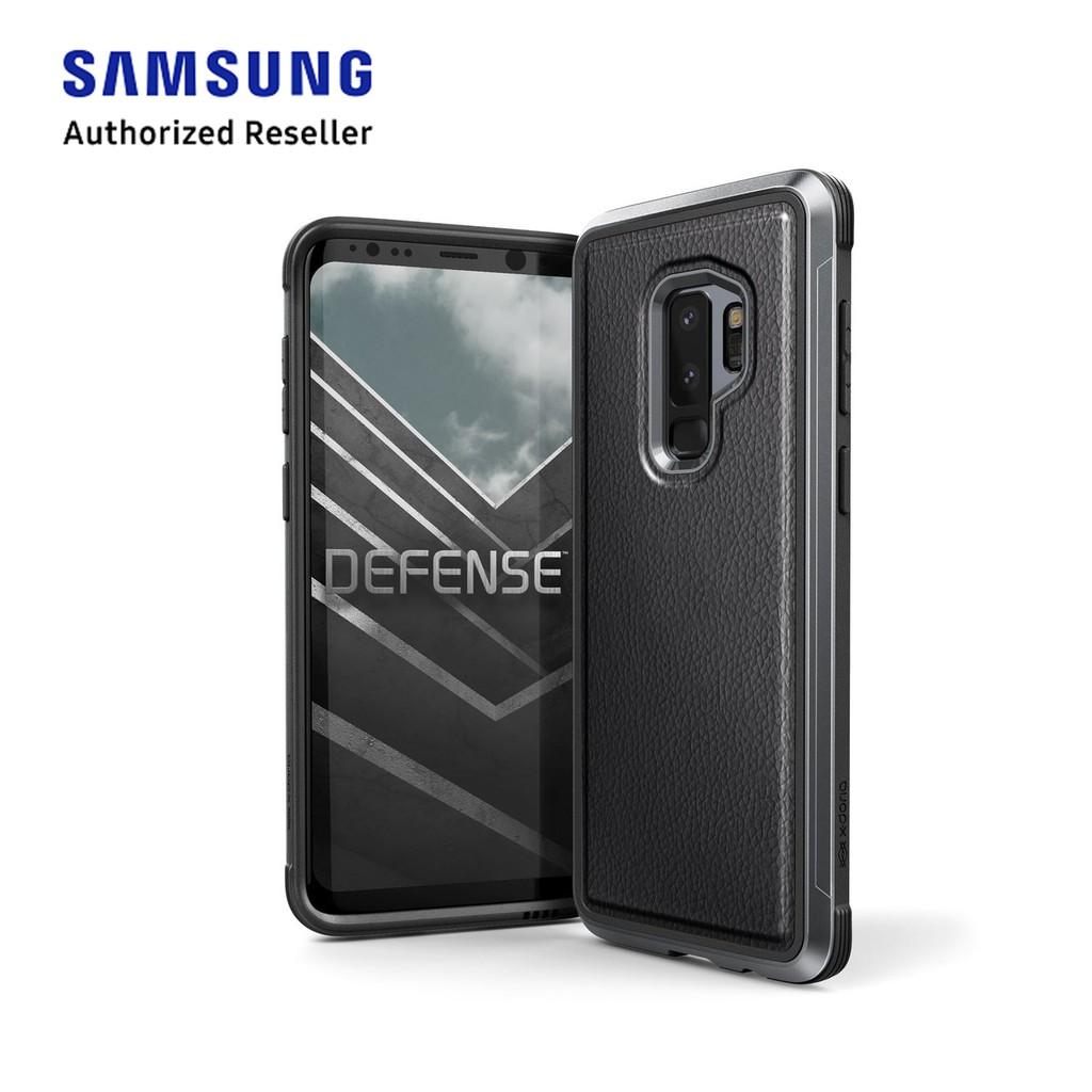 new concept 71599 dd369 SAMSUNG S9+ X-DORIA DEFENSE LUX CASE - BLACK LEATHER