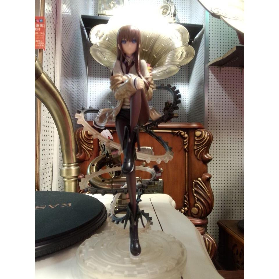 "Anime Steins Gate Makise Kurisu 1//8 PVC 22cm//8.7/"" Figure Figurine New no Box"