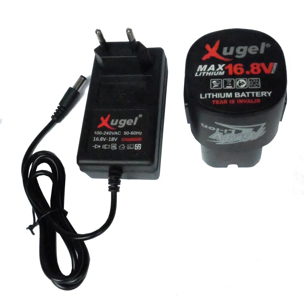 Rechargable Battery 16.8V for Xugel KE1680 Cordless Drill
