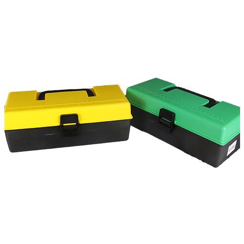 Mini tool box (M-280) Handyman Carpenter Mechanic Multipurpose Two Layer Heavy Duty Durable Tool Professional Organizer