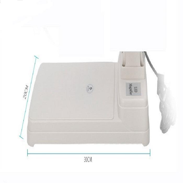 MALAYSIA- LAMPU MEJA KANTA PEMBESAR/ Adjustable Table Type Magnifier Lamp