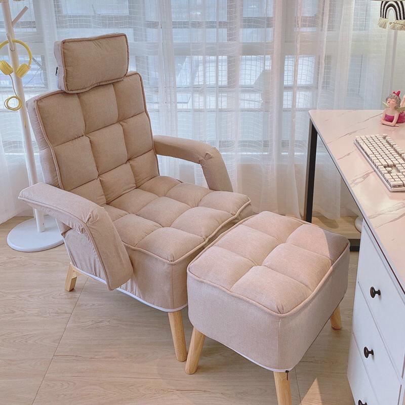 GDeal Lazy Sofa Bedroom Backrest Chair Single Net Red Tatami Small Sofa Balcony Sofa Chair Folding Recliner