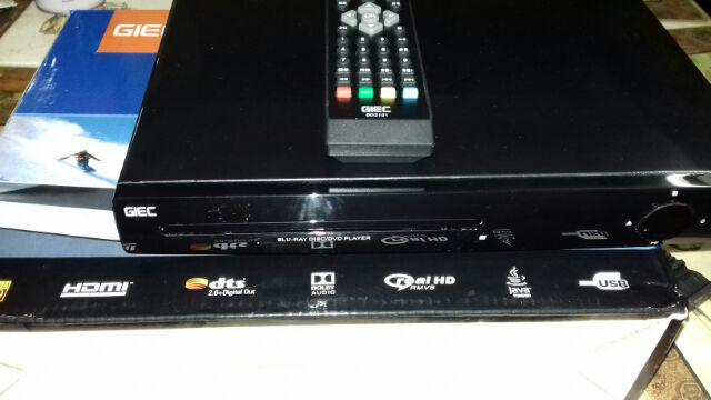 GIEC Blu-Ray Player BDP-G3000 (Read All Blu-Ray Disk