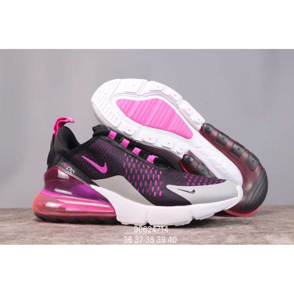Nike 270 FLYKNIT Women MAX Running Pink Shoes For AIR 34RLcq5Aj