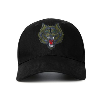 Men's hat male commando tactics green wolf head army fan