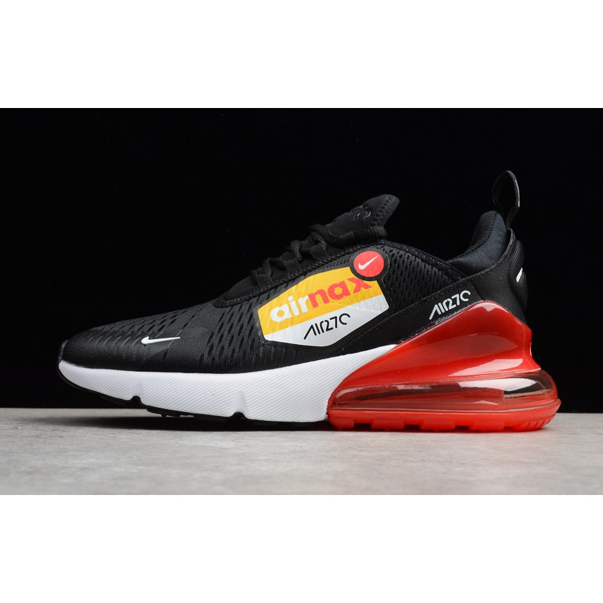 super popular 6acfc 7cf54 Nike Air Max 270 Orange White Total Athletic Shoes AH8050-102