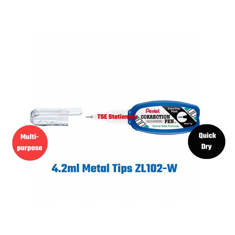 Pentel Correction Pen ZL31 / ZL62 / ZL72 / ZL102 / ZLC21/ ZLC1 Liquid Paper Correction Fluid