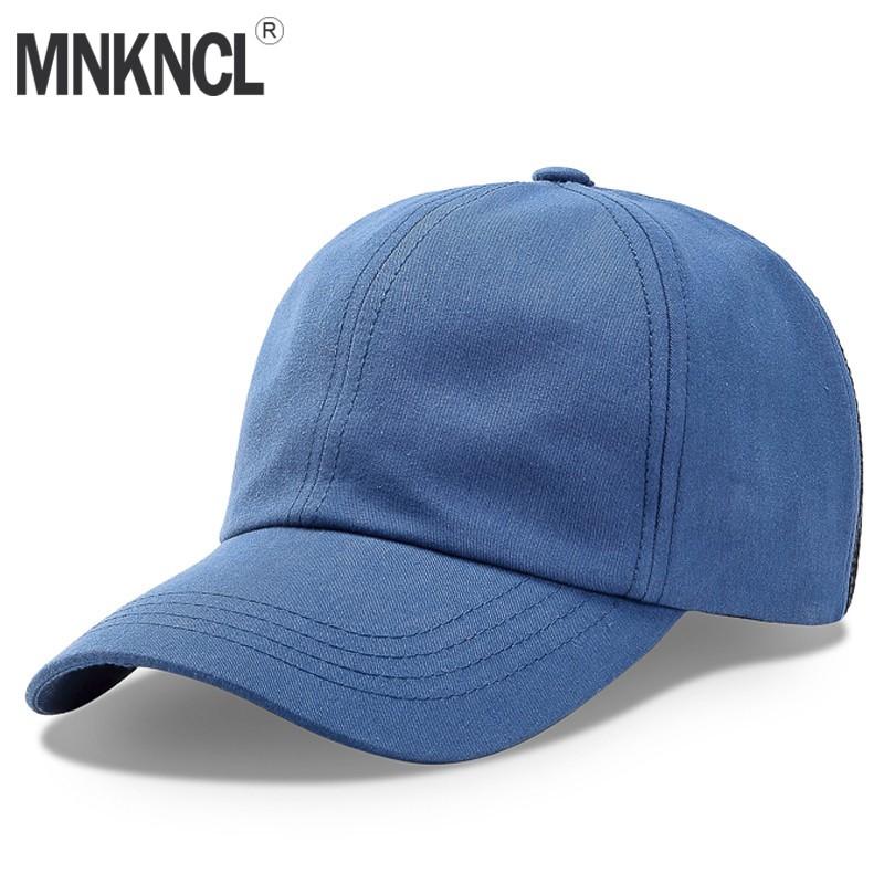 45bf57f01 MNKNCL Summer Baseball Cap Washing Mesh Cap Hats For Men Women Gorras  Hombre Hat