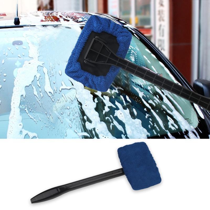 Car Window Cleaner >> Window Cleaner Long Handle Car Wash Brush Windshield Wipe