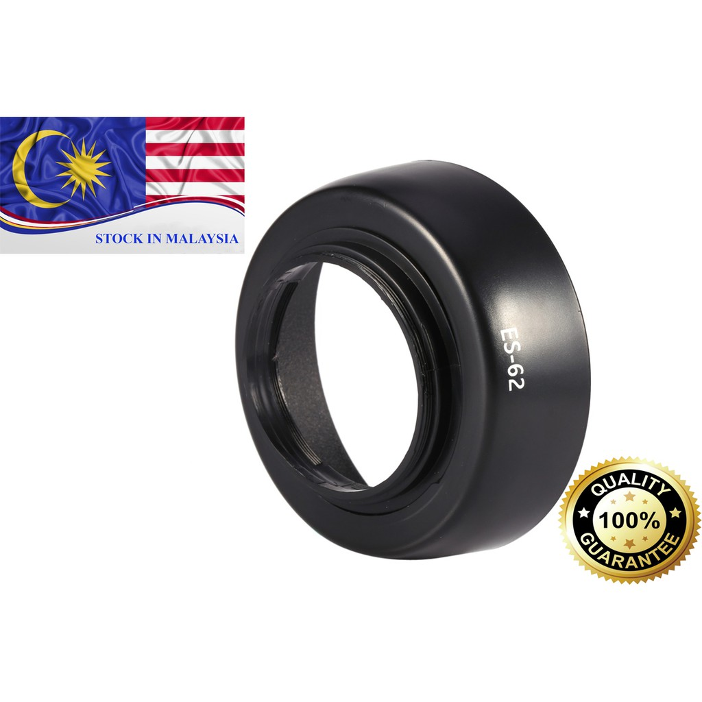 ES-62 ES62 Lens Hood for Canon EOS EF 50mm f/1.8 II (Ready Stock In Malaysia)
