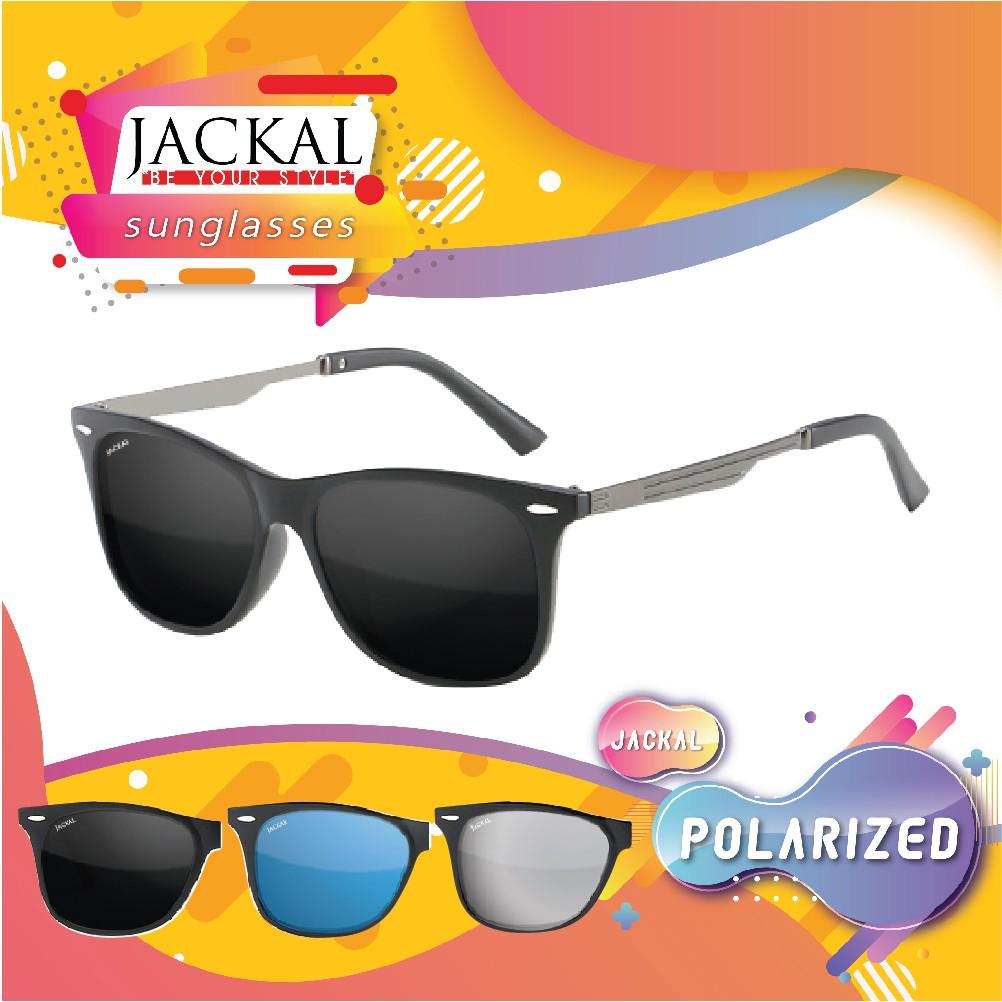 JACKAL SUNGLASSES แว่นตากันแดด รุ่น Traveller JS223 โพลาไรซ์ ฟรีอุ