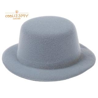 40e31ed46 Ladies Mini Top Hat Fascinator Burlesque Millinery--Shallow Gray ...
