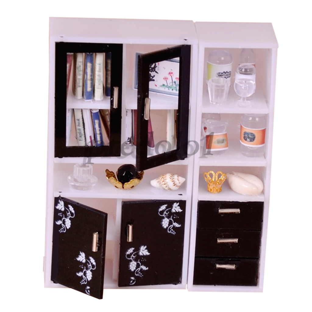 Acrylic Assembly Furniture Model Toy 1 12 Display Cabinet