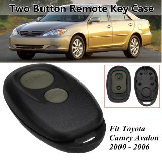 2 Button Car Remote Key Fob Case Shell Replacement For Toyota Camry