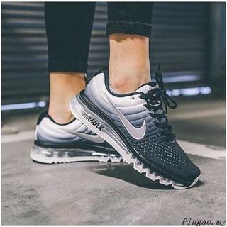 on sale 2c6a6 57e3d Nike Air Max 2017 6 Colors Cushion Sports Running Shoes Blue Black White