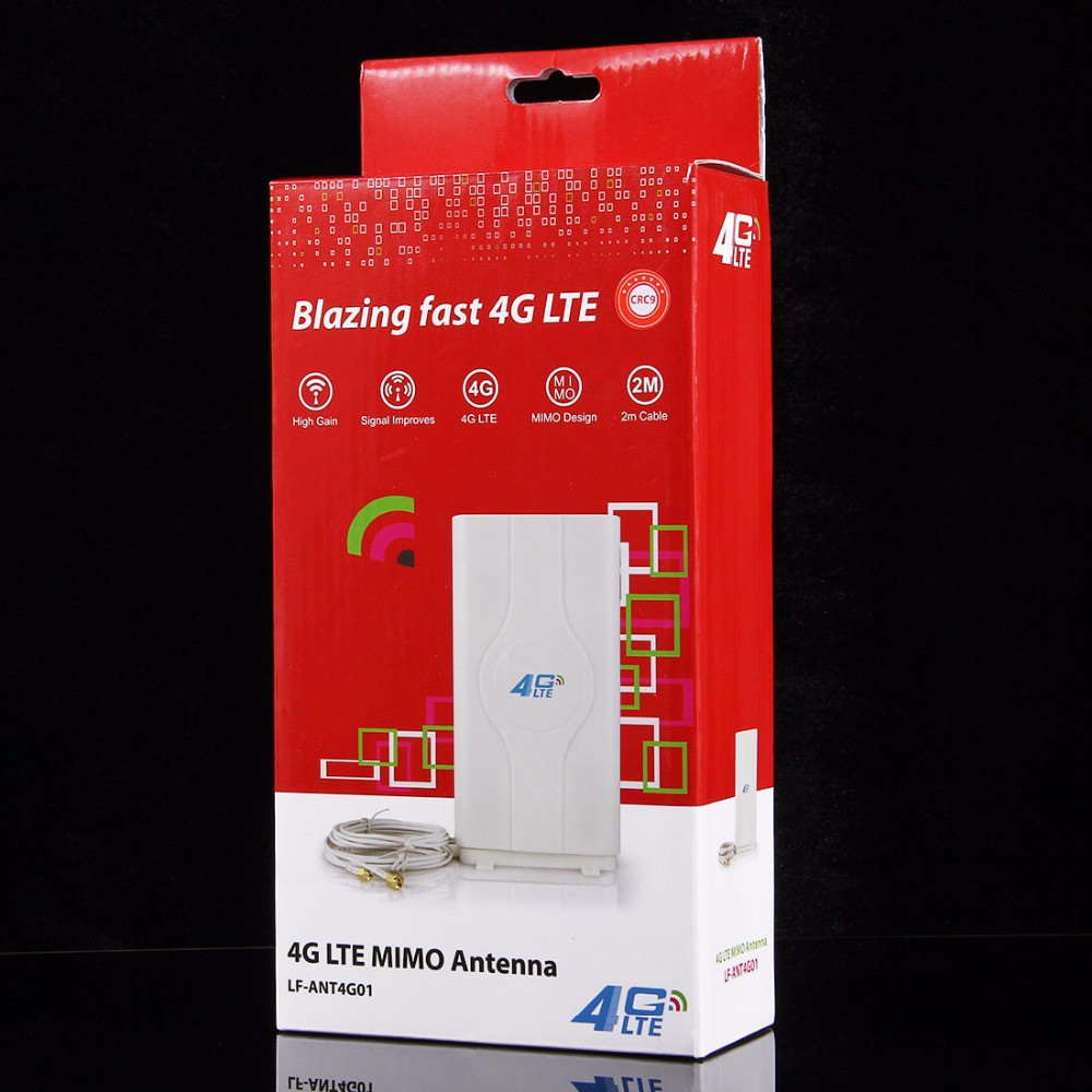 factory outlet cheap 4G LTE MIMO Indoor Antenna SMA & TS9 & crc9 ,for  HUAWEI ZTE