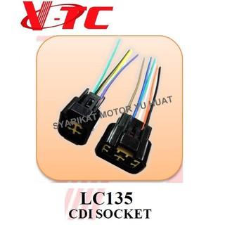 LC135 CDI SOCKET WIRING CDI VTC on