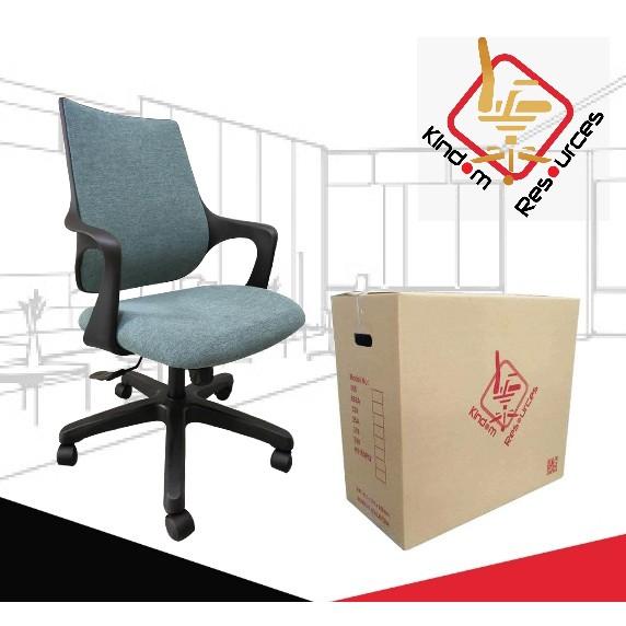 (READY STOCK) Office Chair PU Leather Mesh Molded Foam Made In Malaysia (2 Years Warranty) Kerusi Pejabat