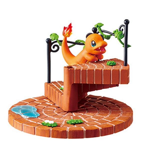 Re-Ment - POKEMON: CUTE AND CONNECTING! POKEMON STAIRS -CITY AFTER THE RAIN