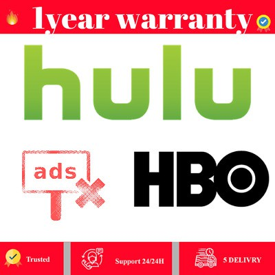 HULU PREMIUM ACCOUNT 🔥 NO Commercials + HBO ADD-ON 🔥 NOT SHARED DATABASE