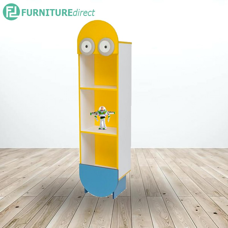TAD MINIONS kids cabinet storage rack – 3 different height size
