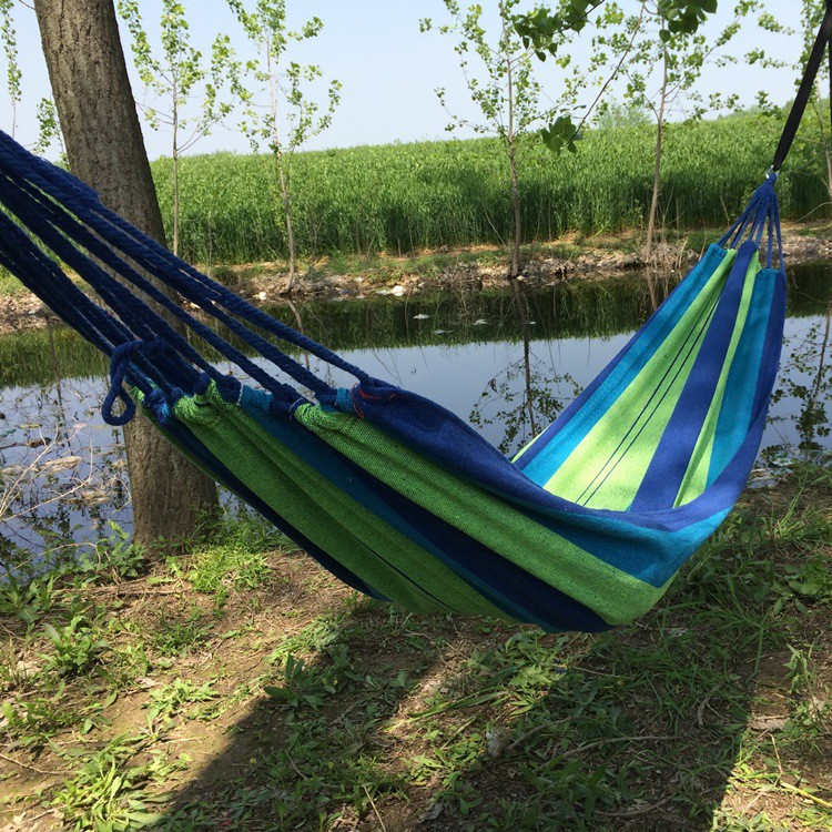 Discreet Portable Hammock 1 Person Strong Picnic Garden Sports Travel Camping Swing Bed Camping & Hiking